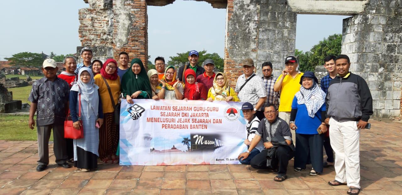 Read more about the article MGMP Sejarah dan AGSI DKI Telusuri Jejak Sejarah dan Peradaban Banten