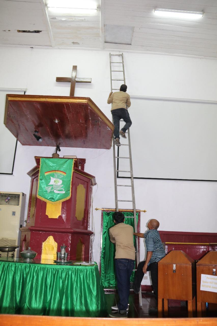 Read more about the article Lengkapi Data untuk Penetapan CB, BPCB Banten Lakukan Pendataan Gereja Tugu dan Menara Syahbandar