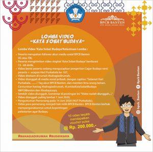 Read more about the article Lomba Video 'Kata Sobat Budaya' Meriahkan Hari Purbakala ke-107