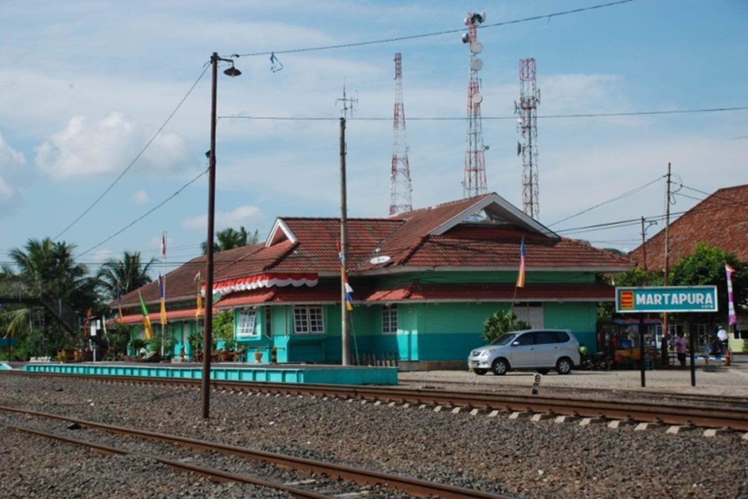 stasiun martapura