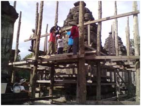 Read more about the article Lima Fakta dalam Pemugaran Sebuah Candi