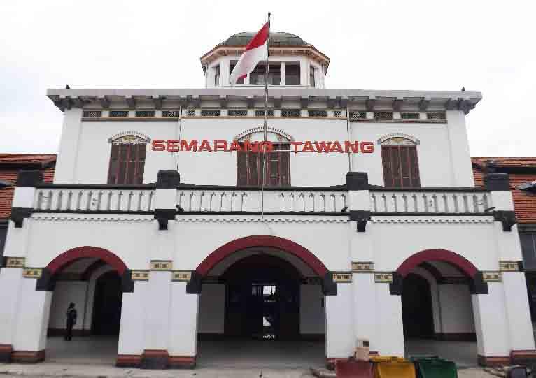 Stasiun Tawang, Stasiun yang Terindah di Hindia Belanda
