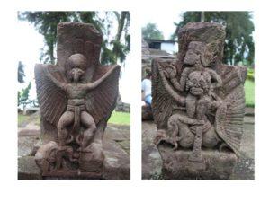 Read more about the article Relief di Obelisk Sebelah Selatan Panggung Candi Sukuh