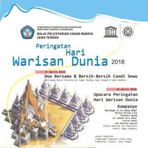 Read more about the article Peringatan Hari Warisan Dunia, 18 April 2018
