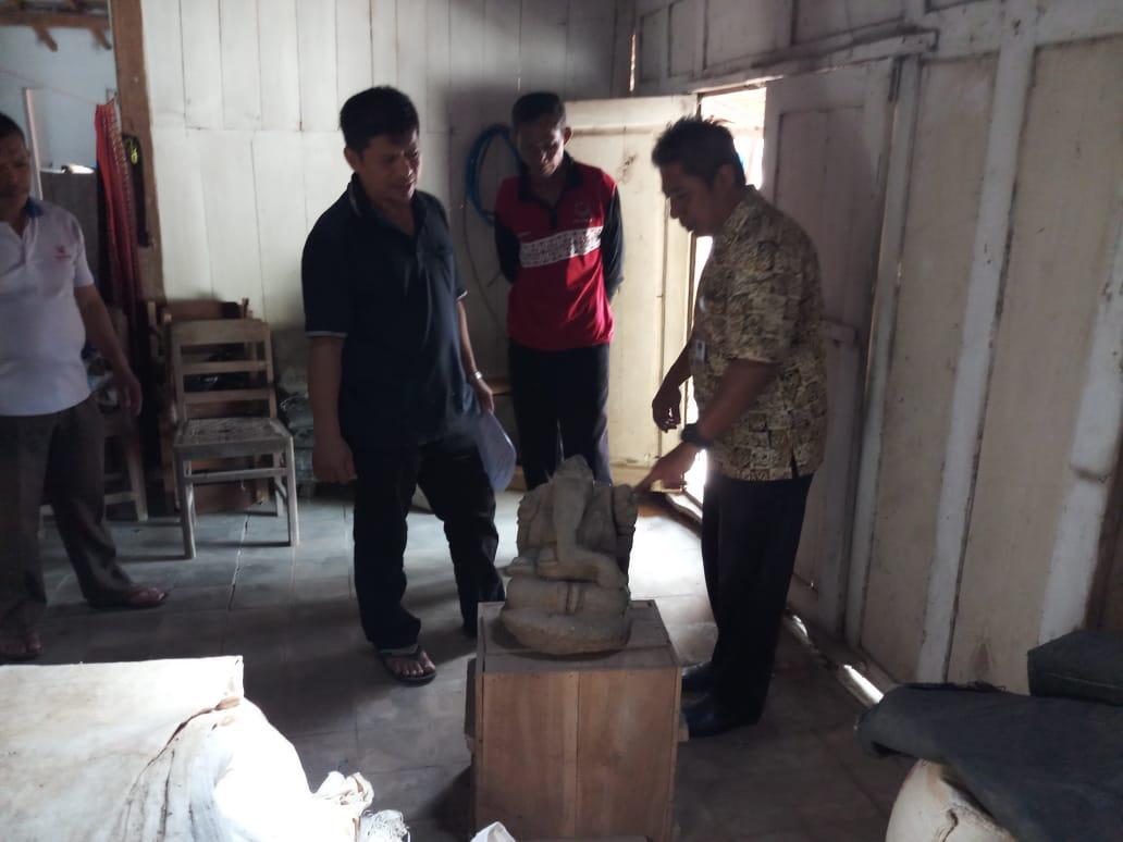 BPCB Jateng Selamatkan Arca Ganesha di Boyolali