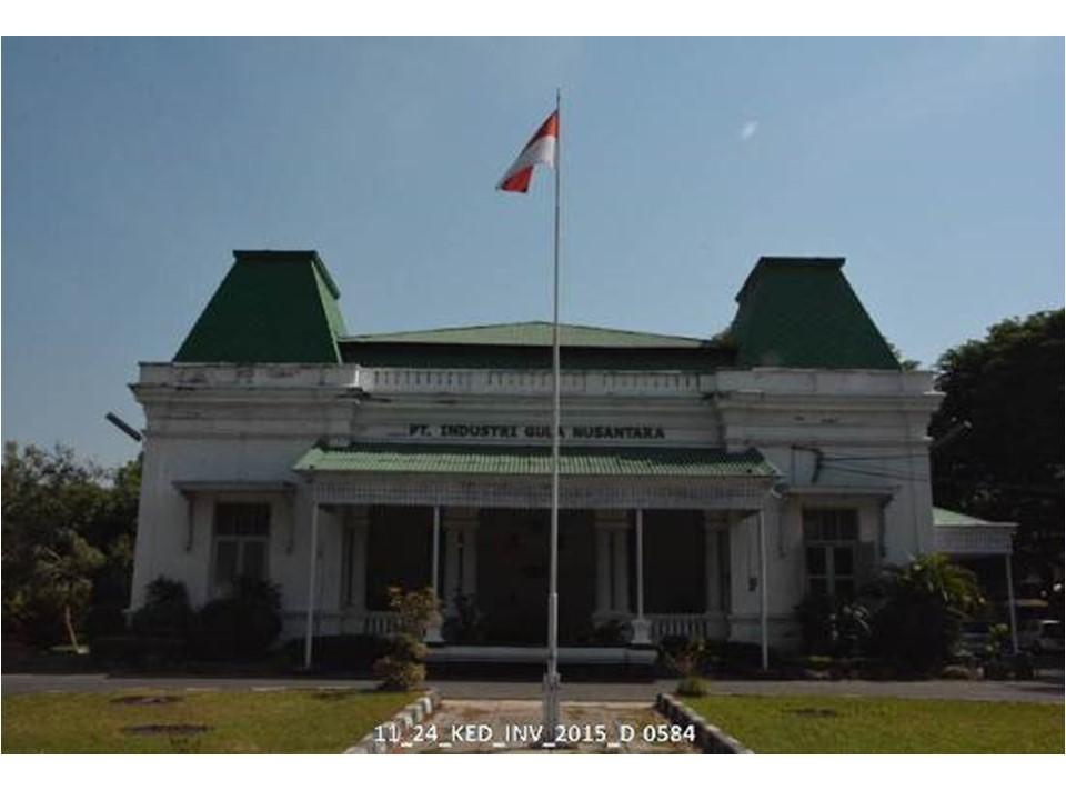 Bangunan Rumah Administratur Pabrik Gula Cepiring