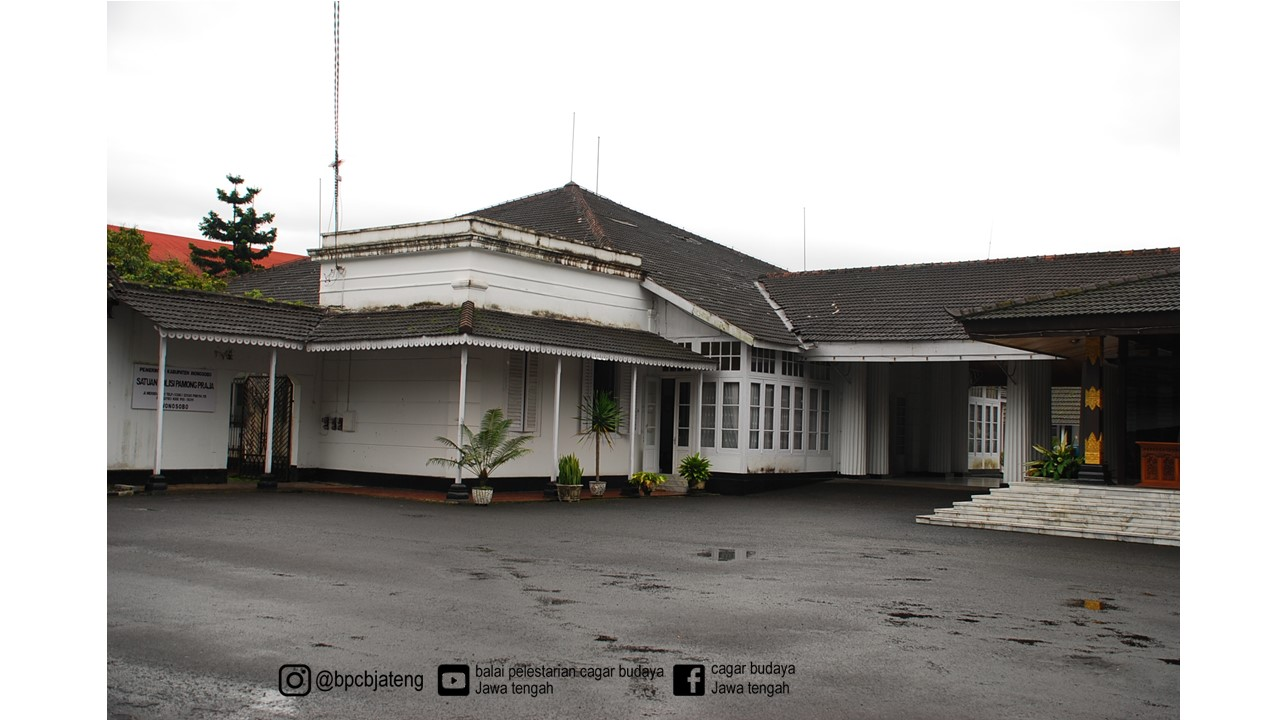 Read more about the article Gedung Rumah Dinas Wakil Bupati Wonosobo
