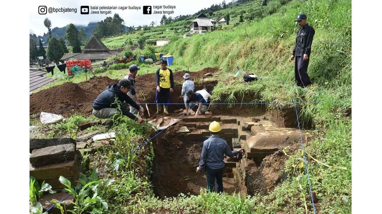 Read more about the article Lagi, Struktur Batu Ditemukan di Kawasan Dieng, Ini Penjelasan dari BPCB Jateng