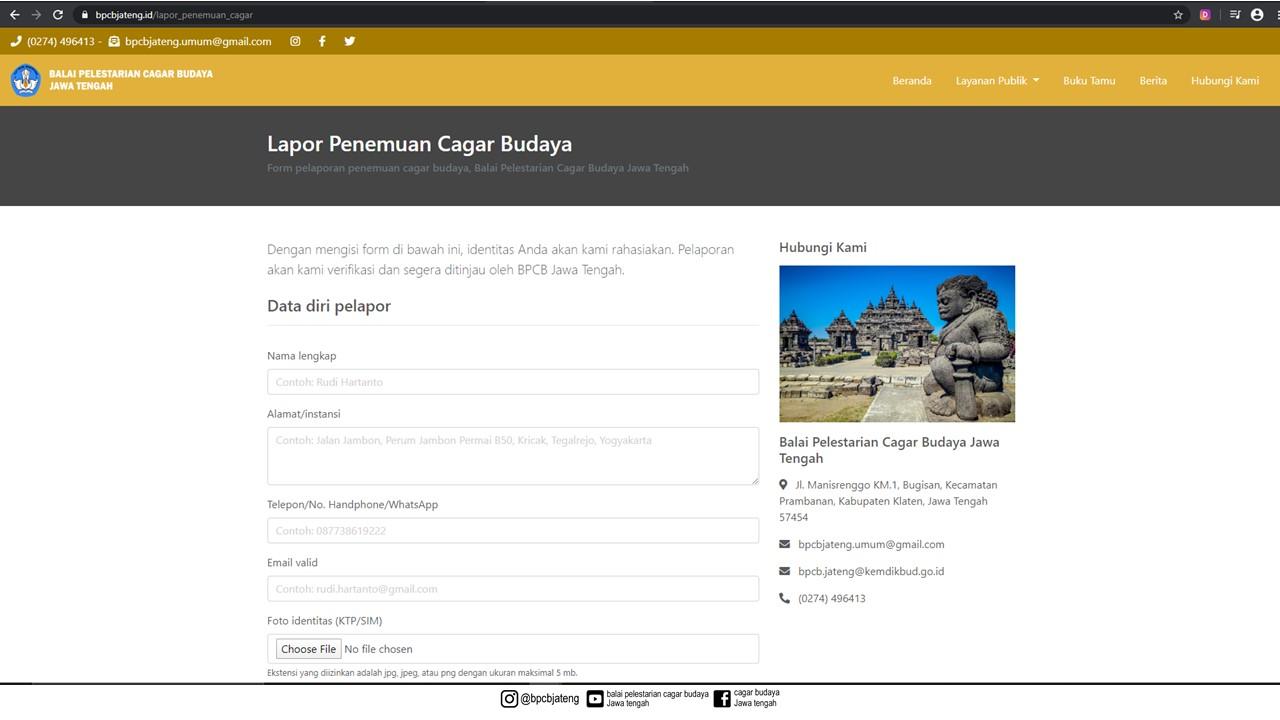 Read more about the article Lebih Mudah dan Cepat dengan bpcbjateng.id