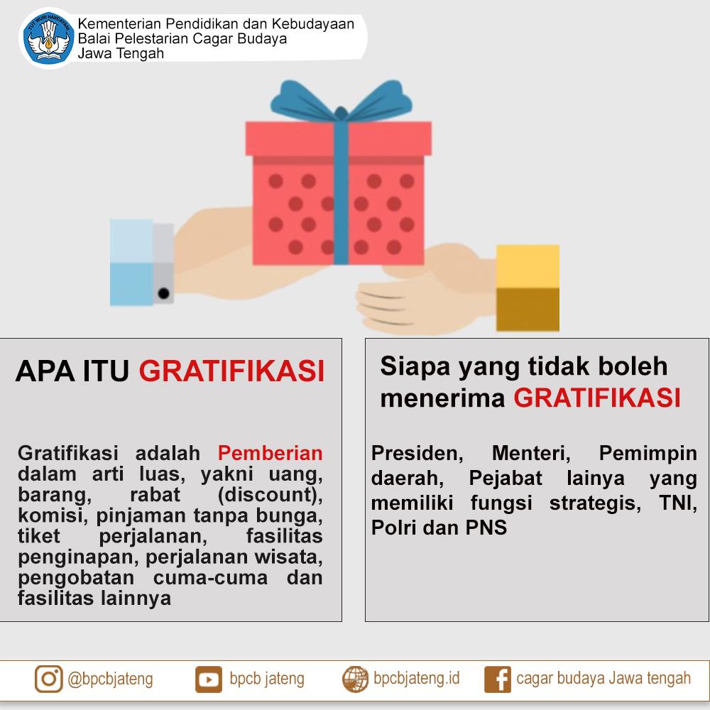 Read more about the article Apa Itu Gratifikasi Dan Siapa Saja Yang Tidak Boleh Menerima Gratifikasi