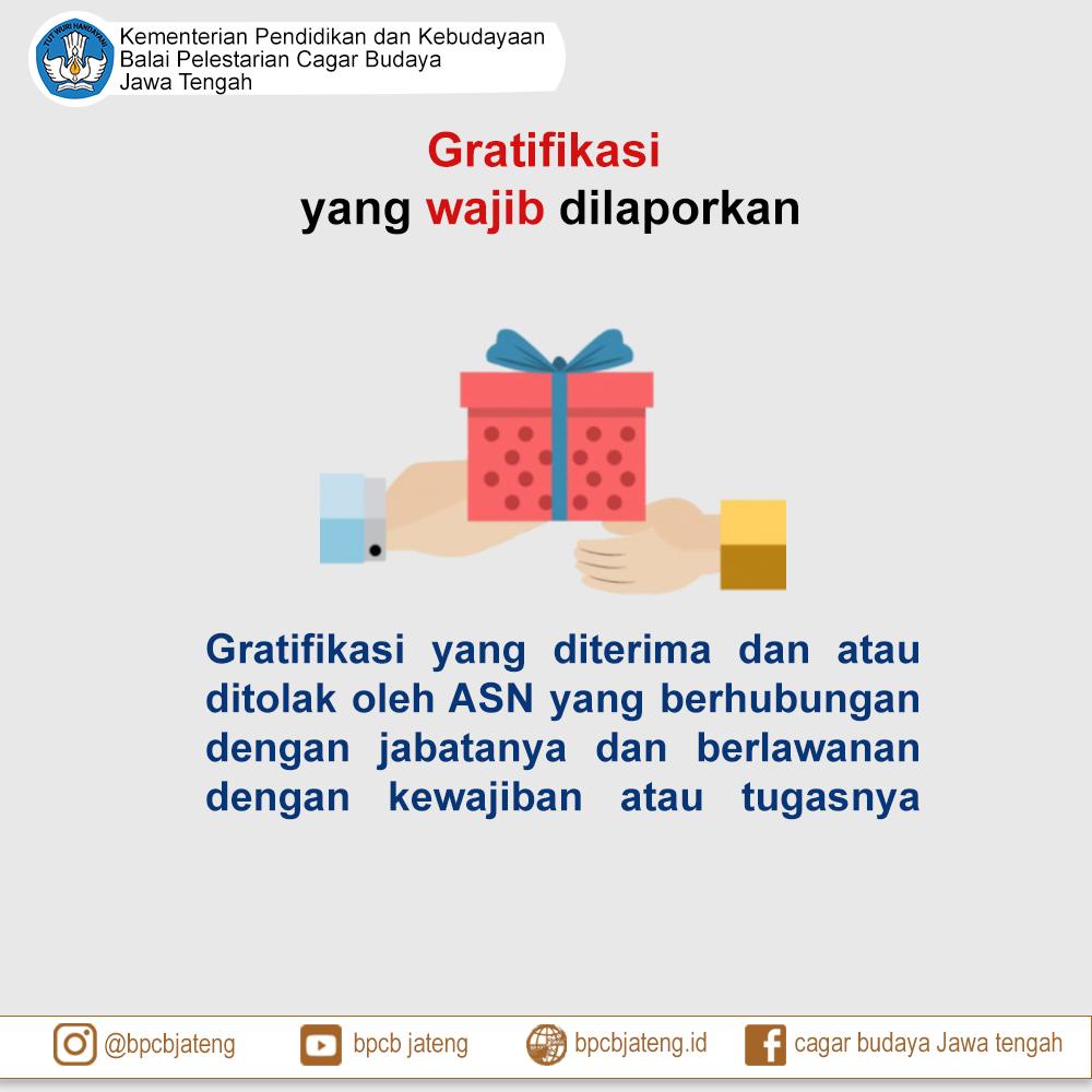 Read more about the article Gratifikasi Yang Wajib Dilaporkan