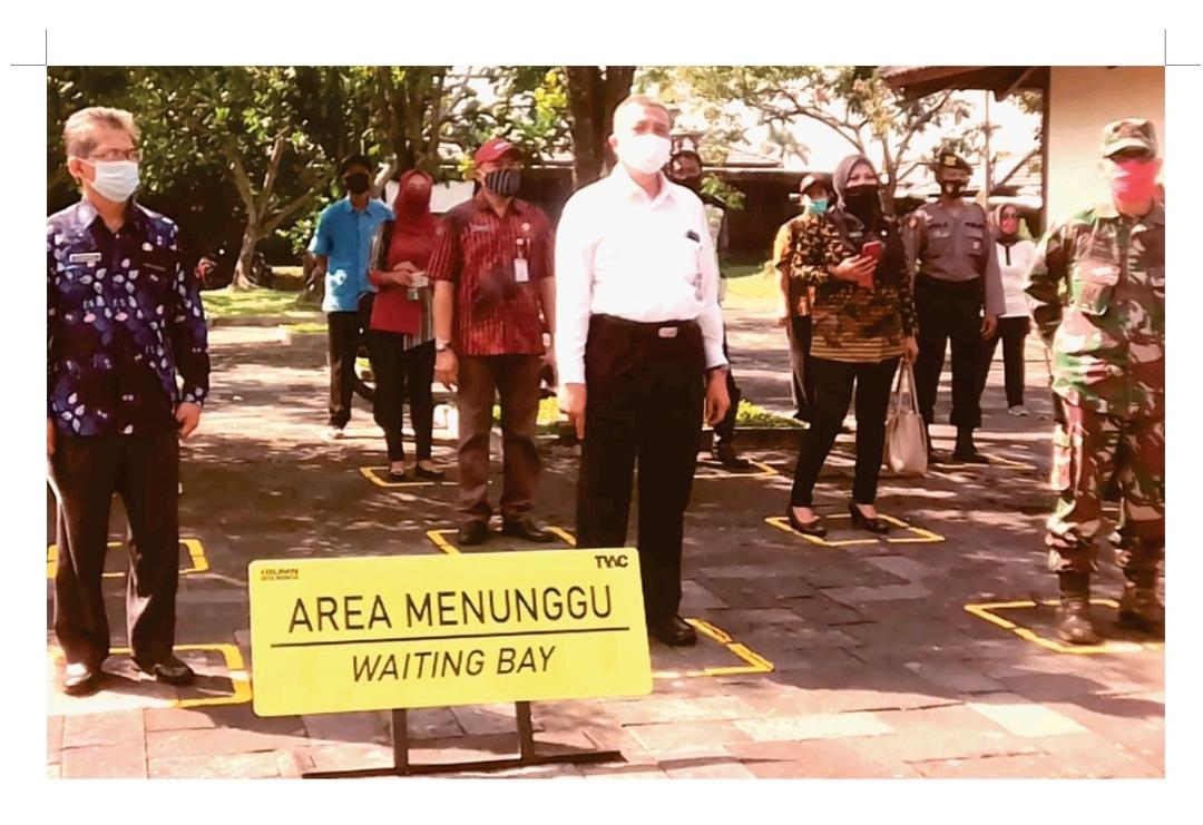 You are currently viewing Kepala BPCB Jawa Tengah Ikuti Simulasi Kunjungan Normal Baru