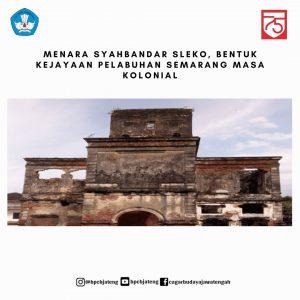 Read more about the article Menara Syahbandar Sleko, Bentuk Kejayaan Pelabuhan Semarang Masa Kolonial