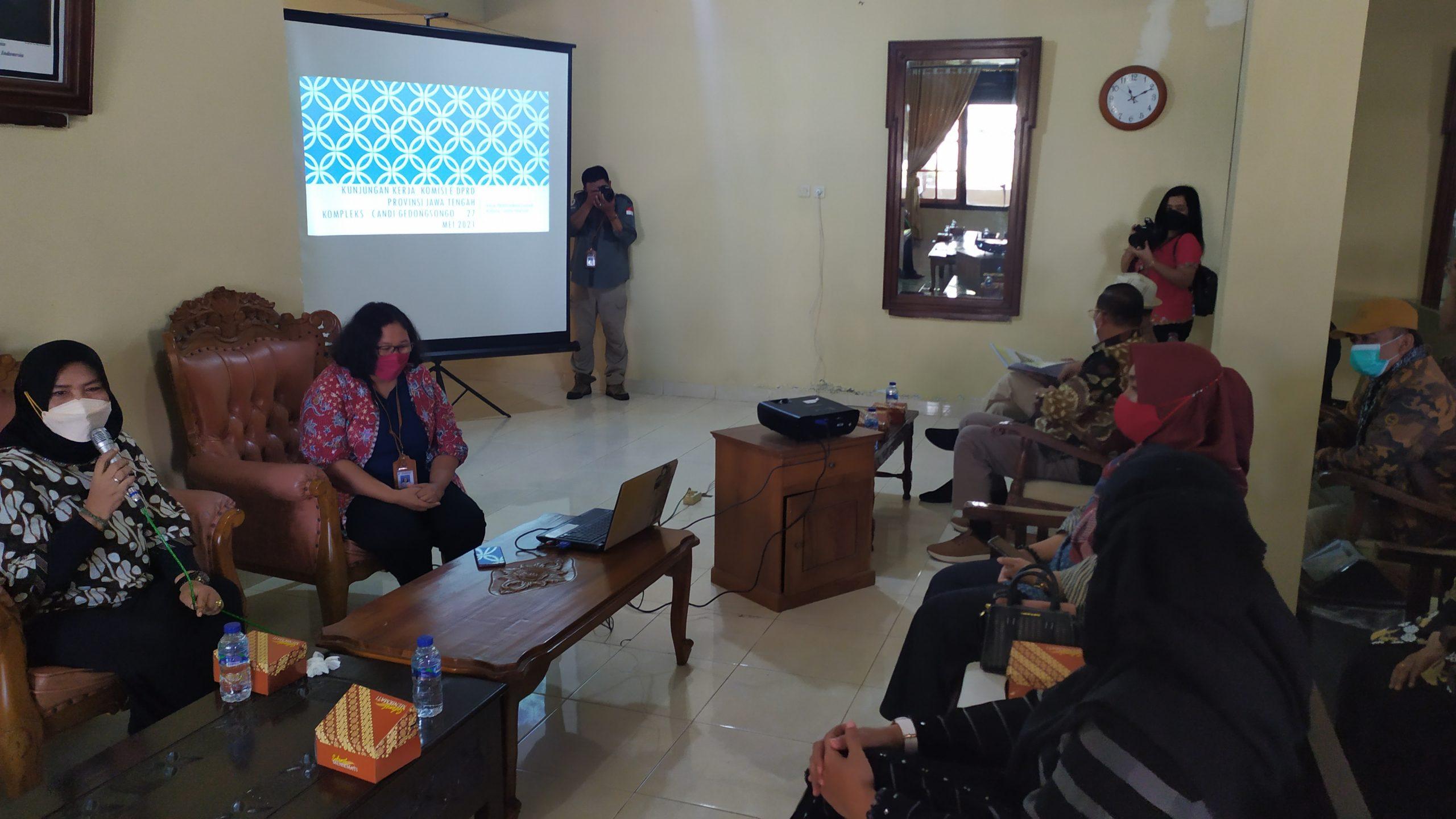 Read more about the article Komisi E DPRD Prov. Jawa Tengah Kunjungi Kawasan Candi Gedongsongo