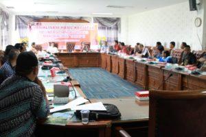 Sosialisasi Kegiatan Delineasi Tahap II Kawasan Karst Sangkulirang Mangkalihat 2016