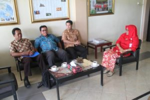 Kunjungan Biro Umum Sekertariat Jenderal Kebudayaan