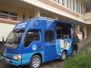 Read more about the article Bioskop Keliling di SMPN 21 Penajam Paser Utara, Kabupaten Penajam Paser Utara