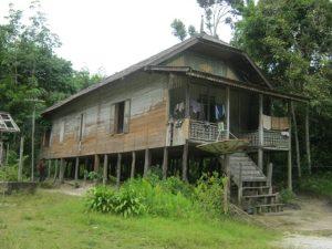 Read more about the article Rumah Tradisional Mangku Baru, Kalimantan Tengah