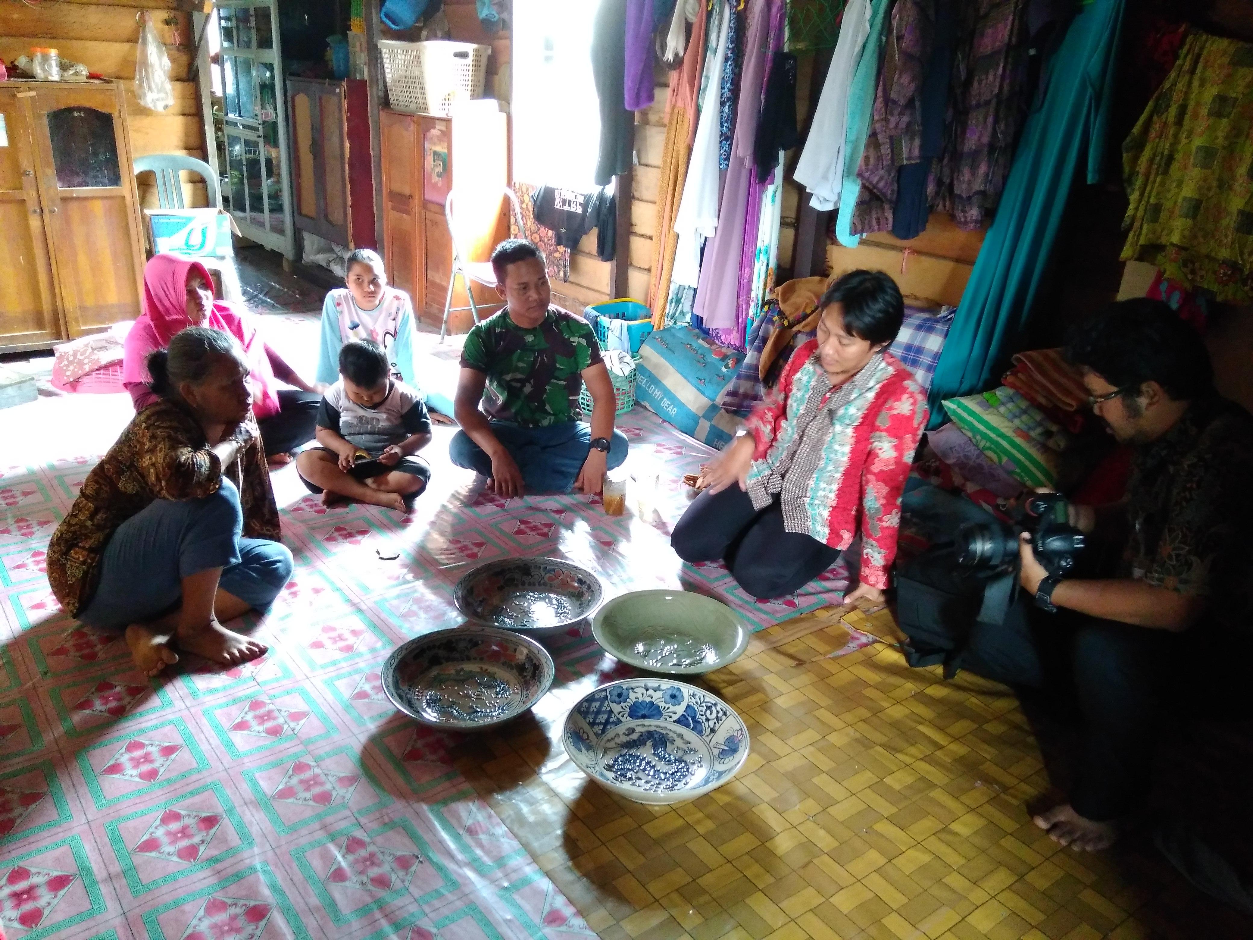 Peninjauan Temuan Benda yang Diduga Cagar Budaya di Kecamatan Sebulu, Kab. Kutai Kartanegara
