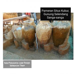 Read more about the article Pameran Situs Kubur Gunung Selendang, Sanga-Sanga Kutai Kartanegara