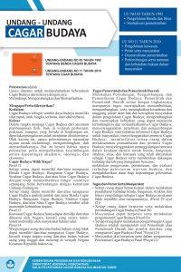 Read more about the article Undang-Undang Cagar Budaya