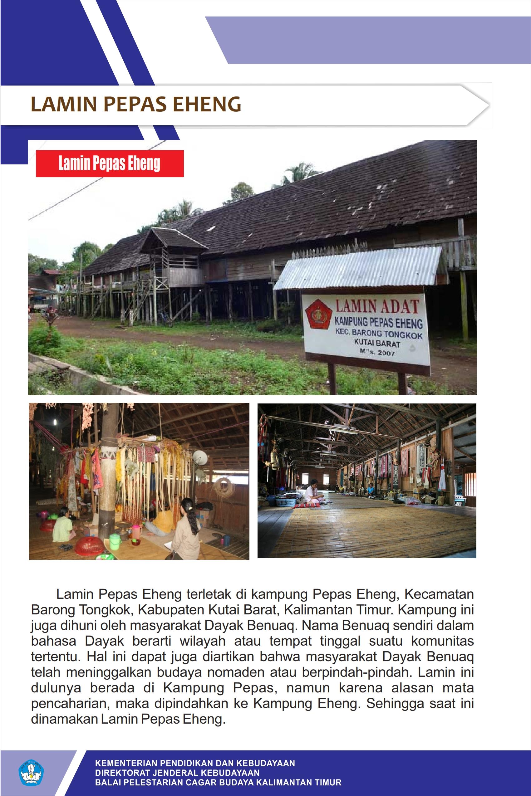 You are currently viewing Lamin Pepas Eheng Kalimantan Timur