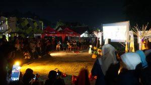 Bioskop Keliling Hadir di Kota Samarinda dalam Rangka Perayaan Hari Film Nasional