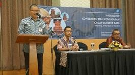 Read more about the article Workshop Konservasi Cagar Budaya Bata di Magelang, Jawa Tengah