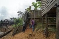 Read more about the article Peninjauan Longsornya Turap Lamin Mancong di Kab. Kutai Barat, Kalimanta Timur