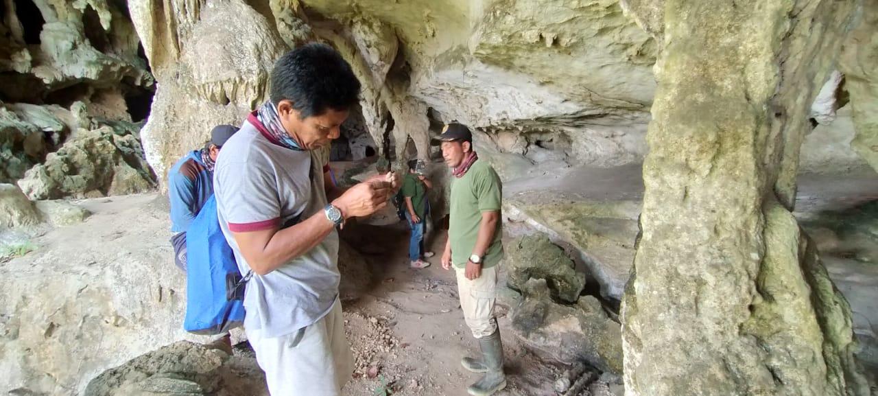 Kegiatan Eksplorasi Penyelamatan di Kawasan Karst Mantewe Kalimantan Selatan