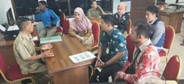 Peninjauan Bangunan Yang Diduga Cagar Budaya terkait Rencana Rehabilitasi Rumah Jabatan Sekretaris Daerah dilaksanakan di Tenggarong, Kutai Kartanegara.