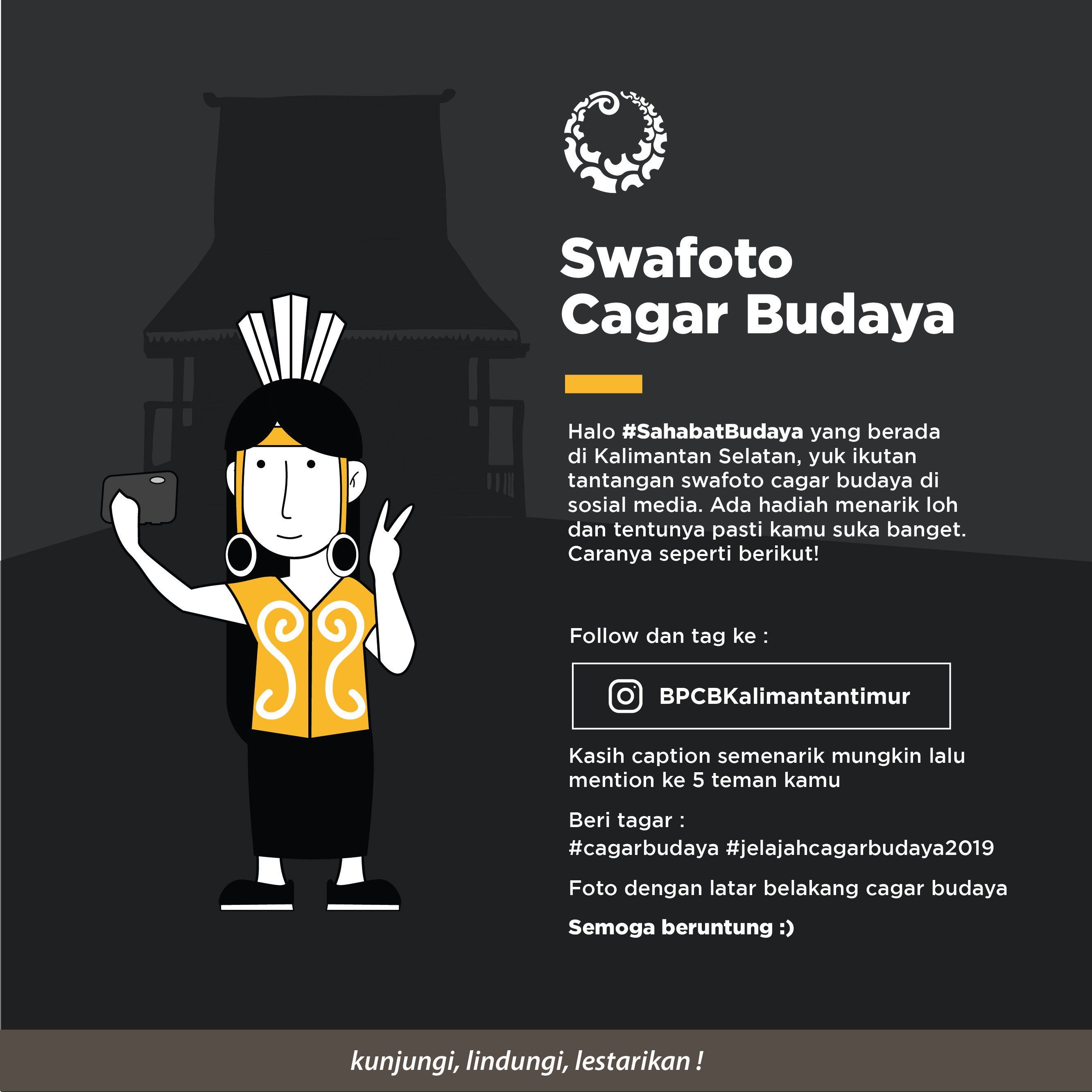 Swafoto Cagar Budaya Di Kalimantan Selatan