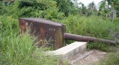 Read more about the article Meriam I Karungan pantai, Tarakan, Kalimantan Utara
