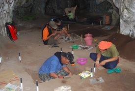 Tinggalan Arkeologis Gua Debu Kabupaten Balangan