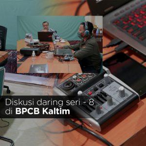 Read more about the article Dibalik Layar Diskusi Daring Seri 8 BPCB Kaltim