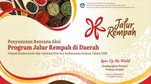 RENCANA AKSI PROGAM JALUR REMPAH Dl DAERAH TAHUN 2021-2025