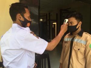 Read more about the article Monitoring kedisiplinan satuan pengamanan Pusat Informasi Situs Gunung Selendang Sangasanga