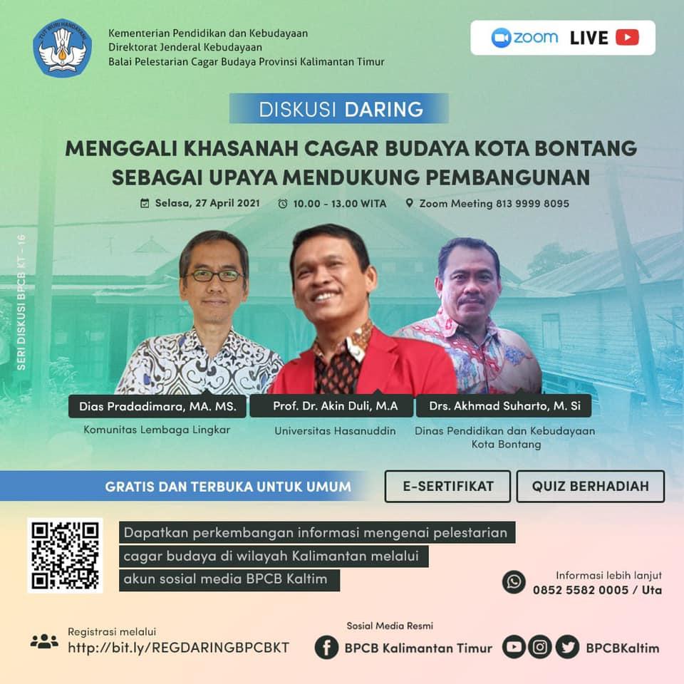 Read more about the article Sosialisai Cagar Budaya Kota Bontang