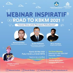 Webinar Inspiratif Road to KBKM 2021