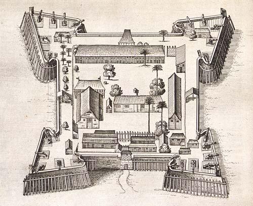 Pembangunan Benteng Nassau yang Penuh Drama | Balai Pelestarian ...
