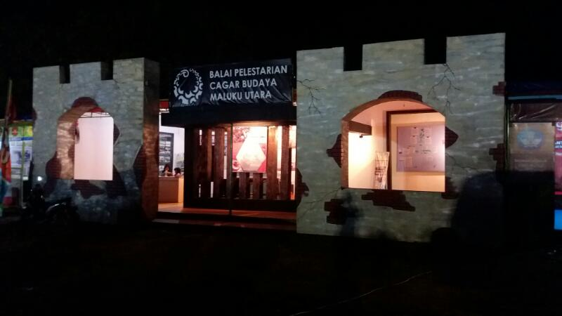 BPCB Maluku Utara di Legu Gam 2017