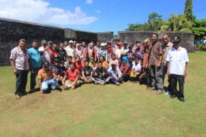 Workshop Pembinaan Juru Pelihara se-Provinsi Maluku Utara tahun 2017
