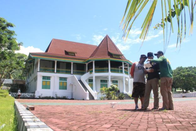 Pemetaan dan Penggambaran Kawasan Kedaton Sultan Tidore