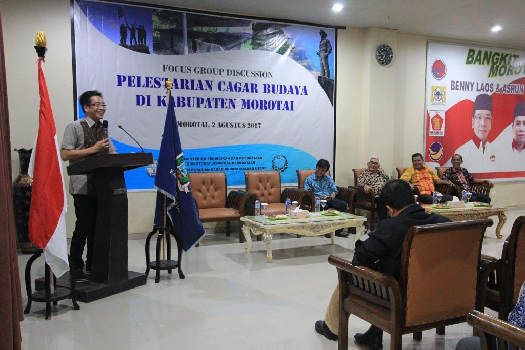 Read more about the article Harapan Morotai demi Pelestarian Cagar Budaya