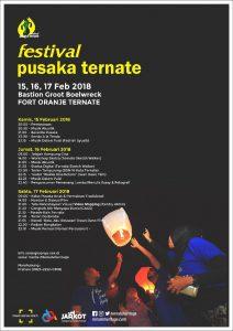 Read more about the article Festival Pusaka Ternate 2018 : Ketika Benteng Oranje Dimanfaatkan