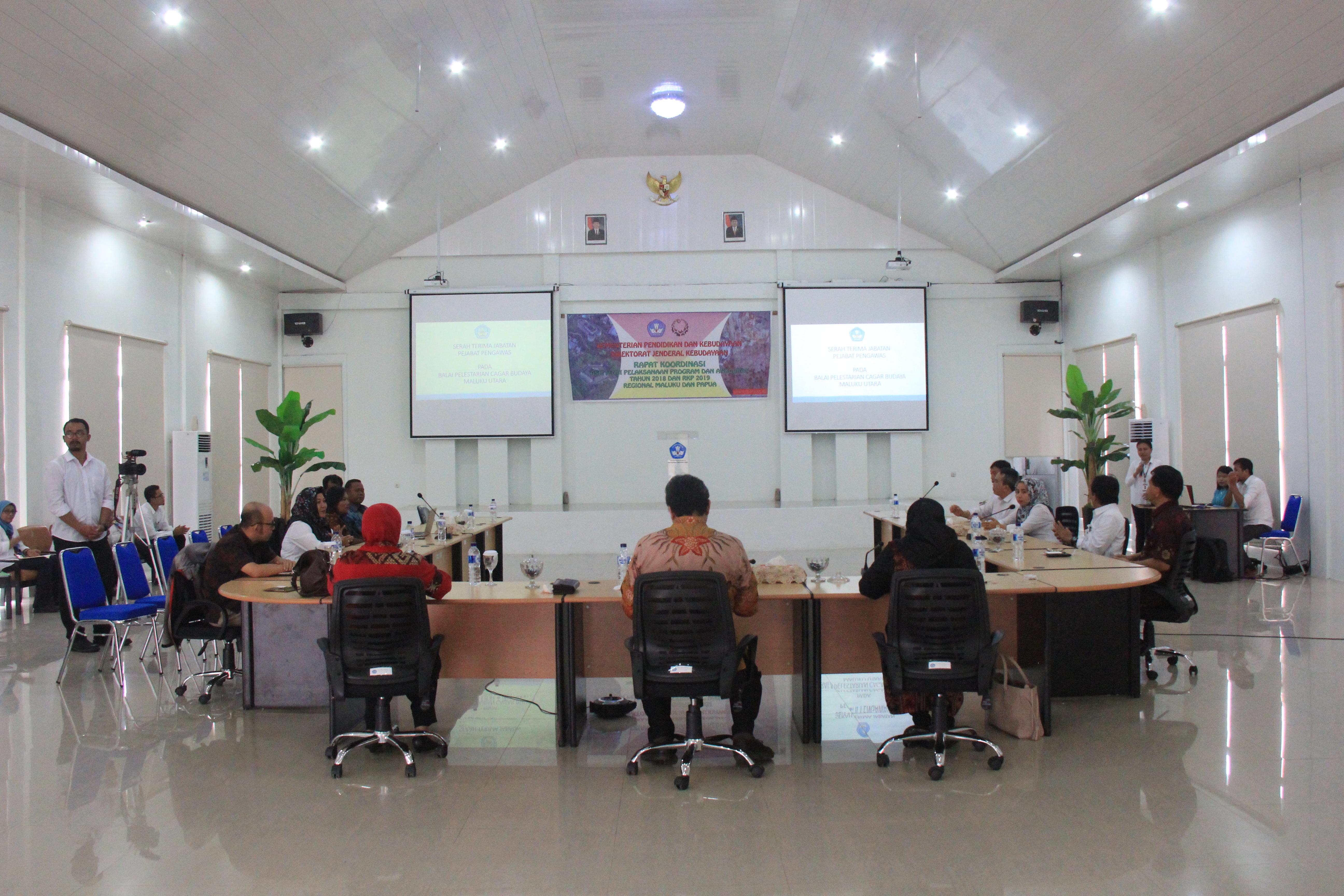 Rapat Koordinasi Asistensi Pelaksanaan Program dan Anggaran tahun 2018