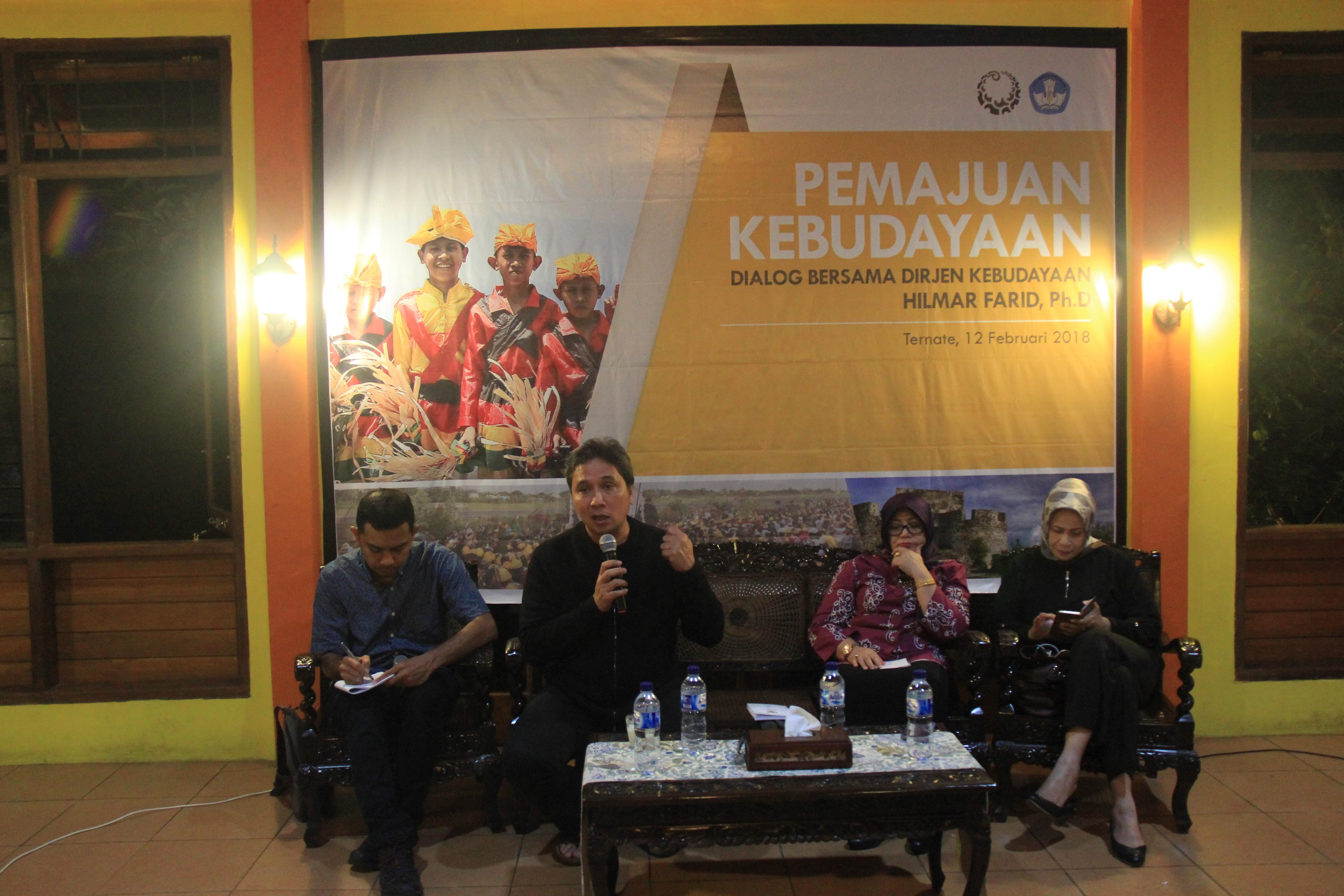 Kabar dari Ternate : Komunitas dan Pemajuan Kebudayaan