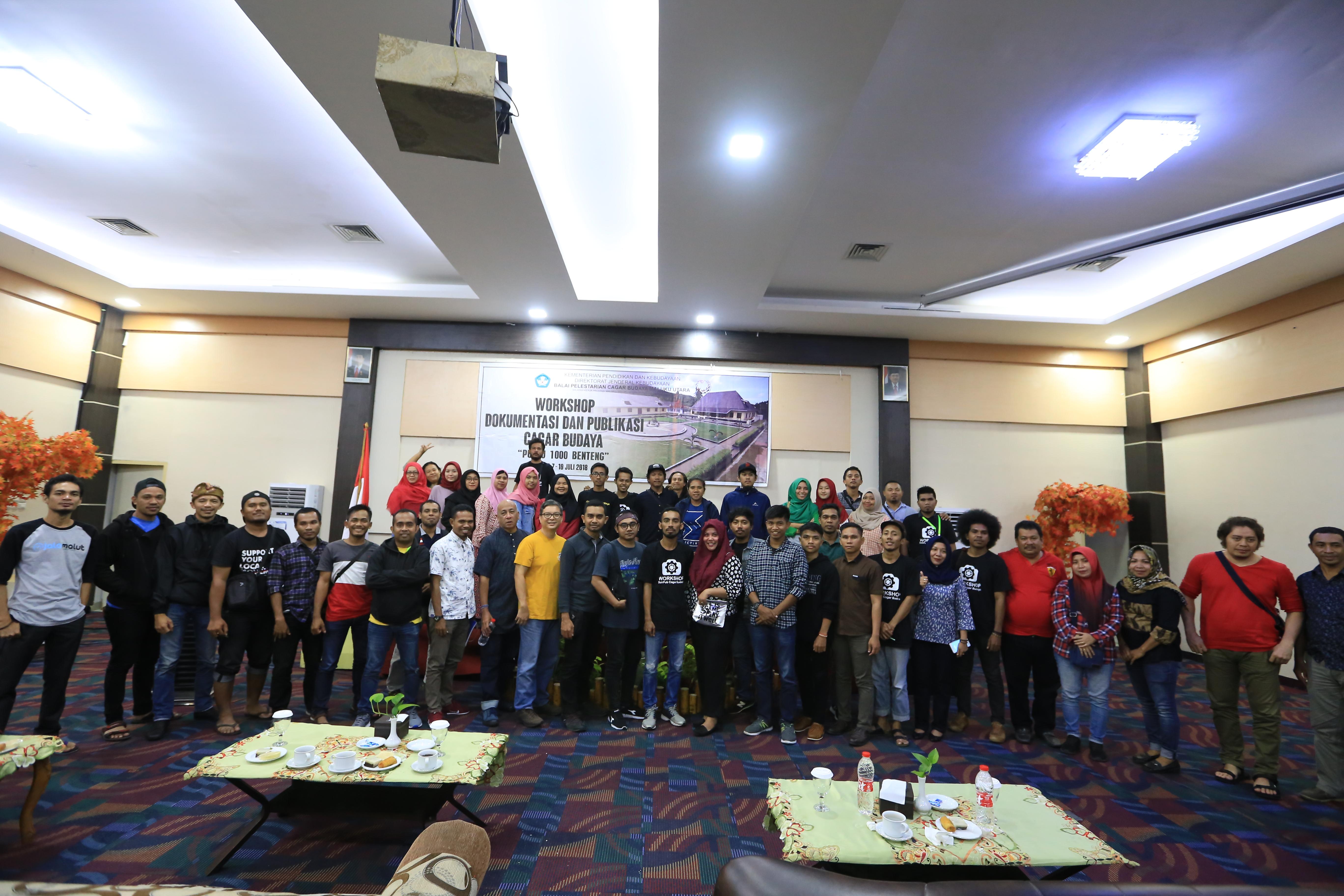 Workshop Publikasi dan Dokumentasi Cagar Budaya