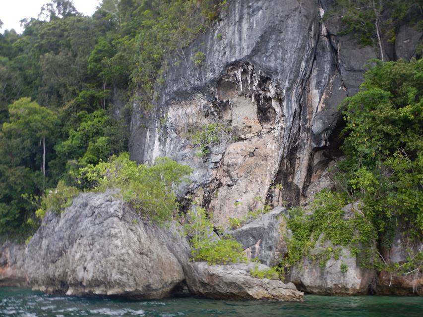 Gambar Cadas di Tanjung Bitsyari