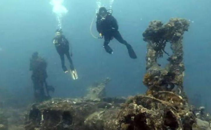Cagar Budaya Bawah Air di Morotai